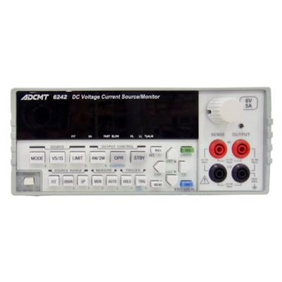 6242 直流電圧・電流源/モニタ