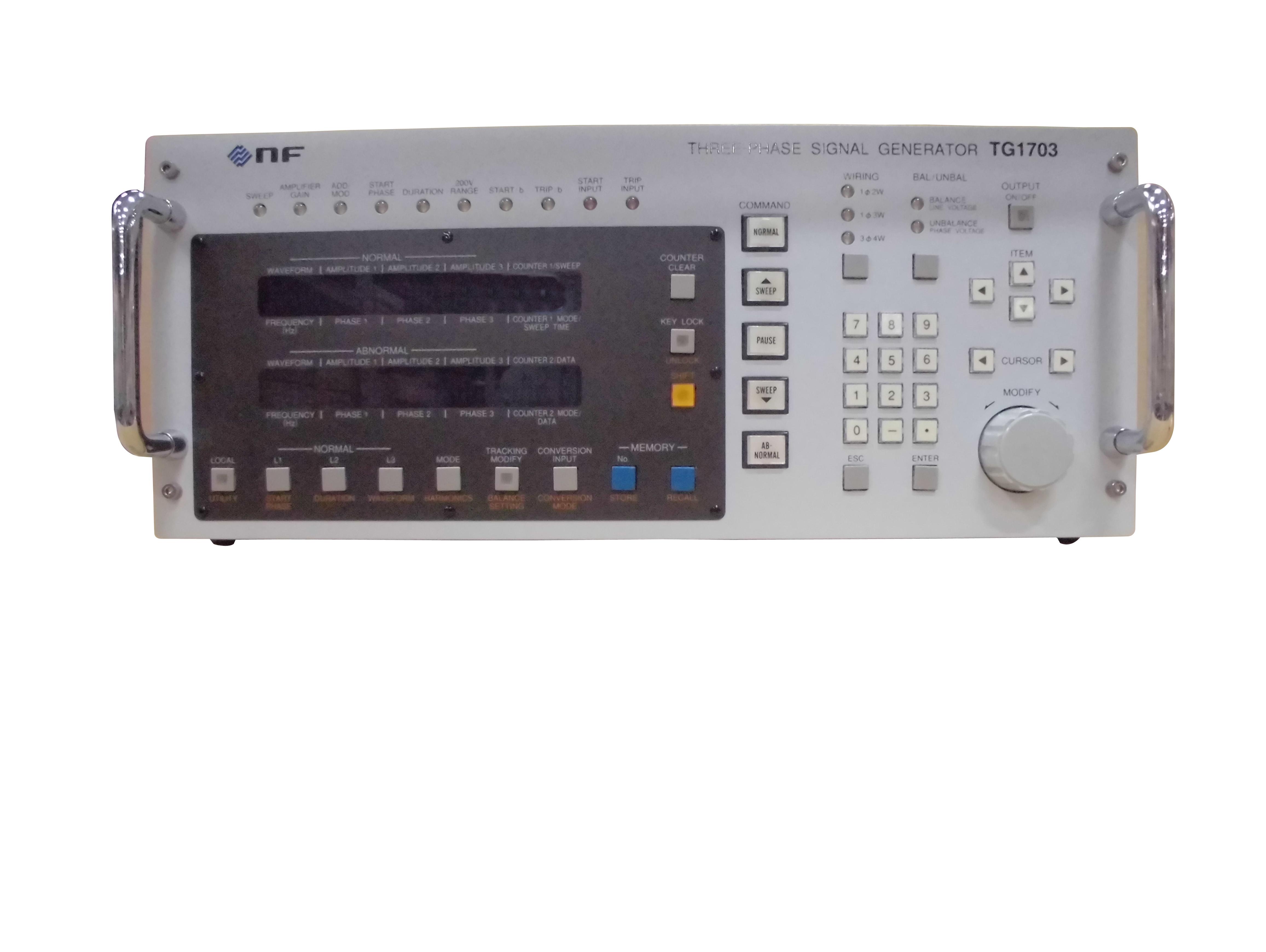 TG1703(DPデンゲンセンヨウ) 三相信号発生器