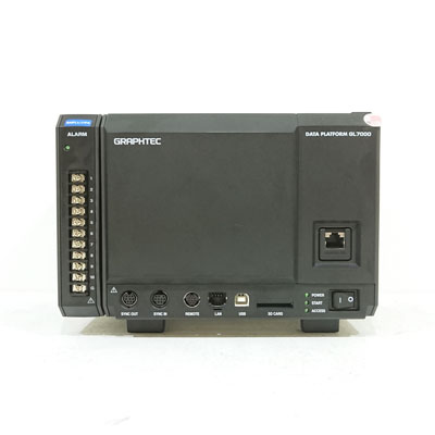 GL7000/GL7-DISP 計測ユニット拡張型データアクイジョン