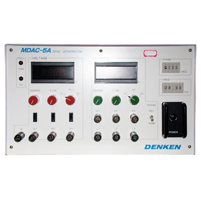 MDAC-5A 三相交流発生装置