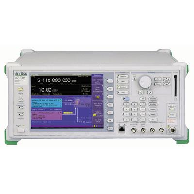 MG3700A/002,011,021,MX370102A,MX370108A,MX370111A ベクトル信号発生器