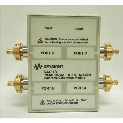 N4431B/105,201,301,401 4ポート電子校正モジュール