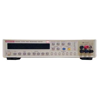 R8340A デジタル超高抵抗/微少電流計