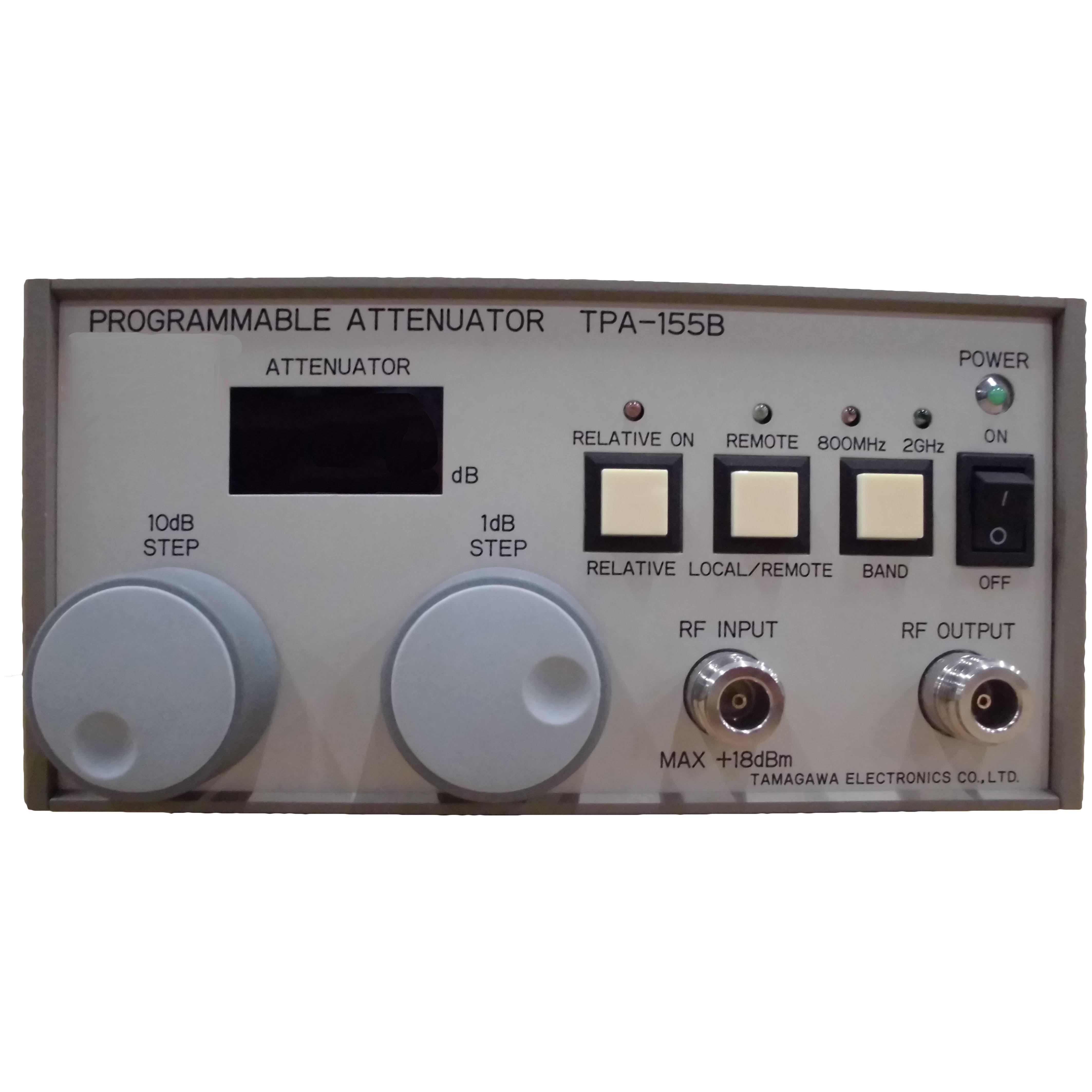 TPA-155B プログラマブルアッテネータ