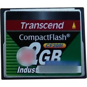 TS2GCF200I コンパクトフラッシュカード