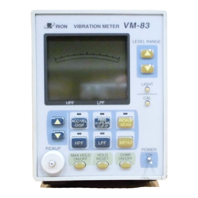 VM-83/NC-98 汎用振動計