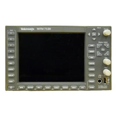 WFM7120/AD,CPS,DAT,DL,HD,PHY,SIM 高機能マルチ波形モニタ