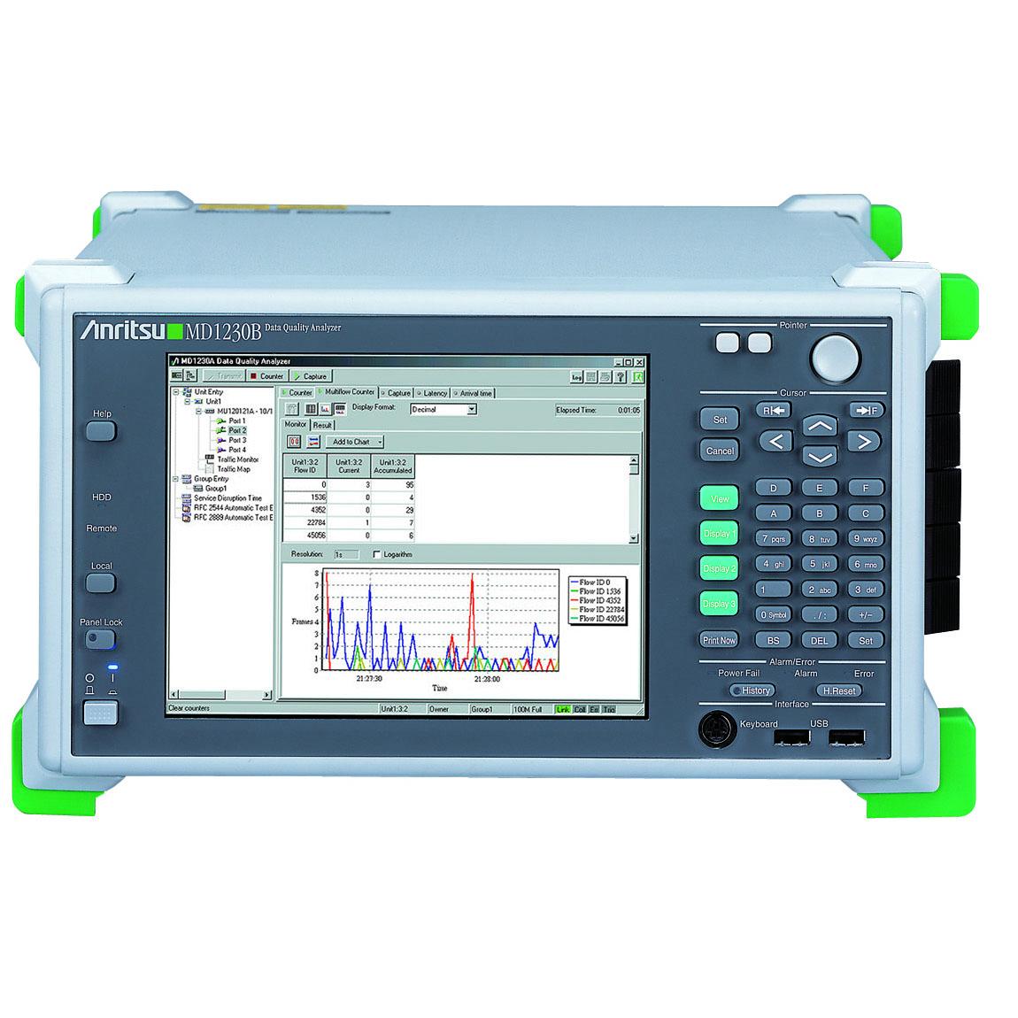 MD1230B/02,03,11,13,MX123001A-10,Z0541A データクオリティアナライザ