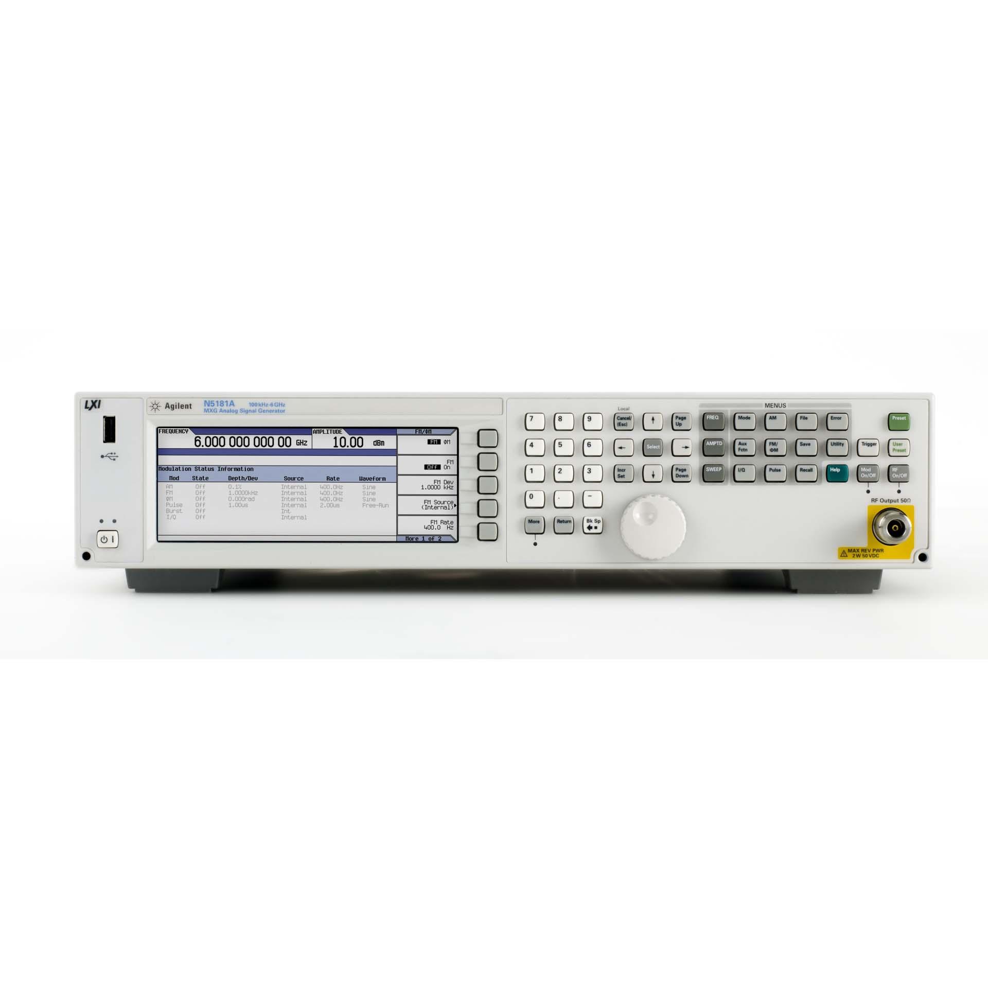 N5181A/099,320,503,1EQ,UNT,UNU MXG信号発生器