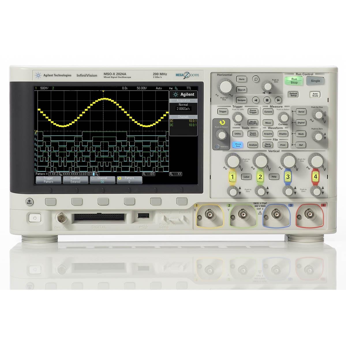 DSOX2024A/DSOX2EMBD,N6458A デジタルオシロスコープ