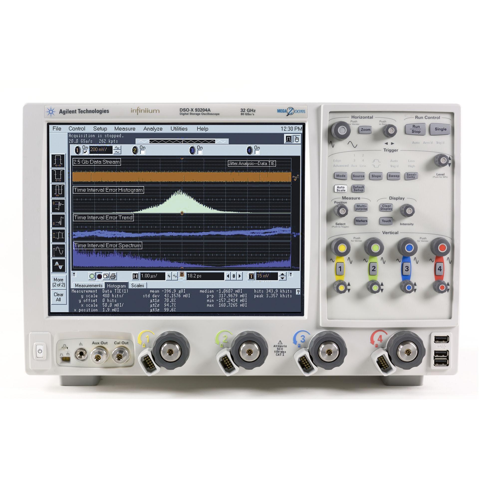 DSOX93204A/061,800,805,N5384A-1FP,N5400A-1FP デジタルオシロスコープ