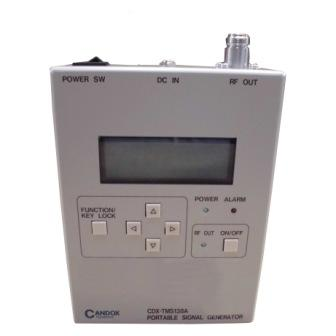 CDX-TMS138A/ACアダプタ ポータブル信号発生器