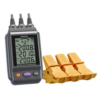 PD3259 電圧計付検相器