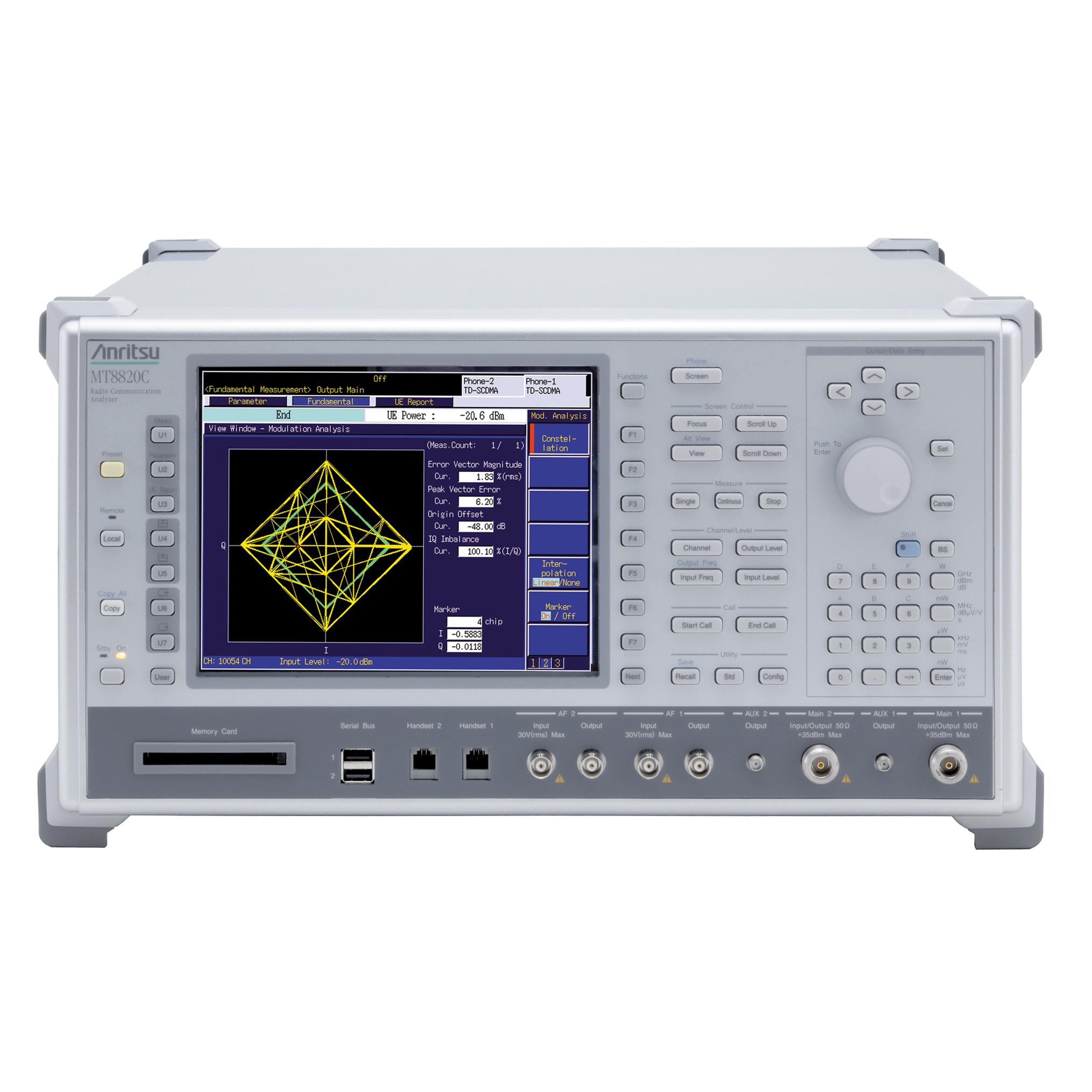 MT8820C/001×2,002×2,011,012,MX882000C-001,MX882001C-001・011・041,MX882010C,MX882050C-002・009,A0058A,MN8110B×2 ラジオコミュニケーションアナライザ