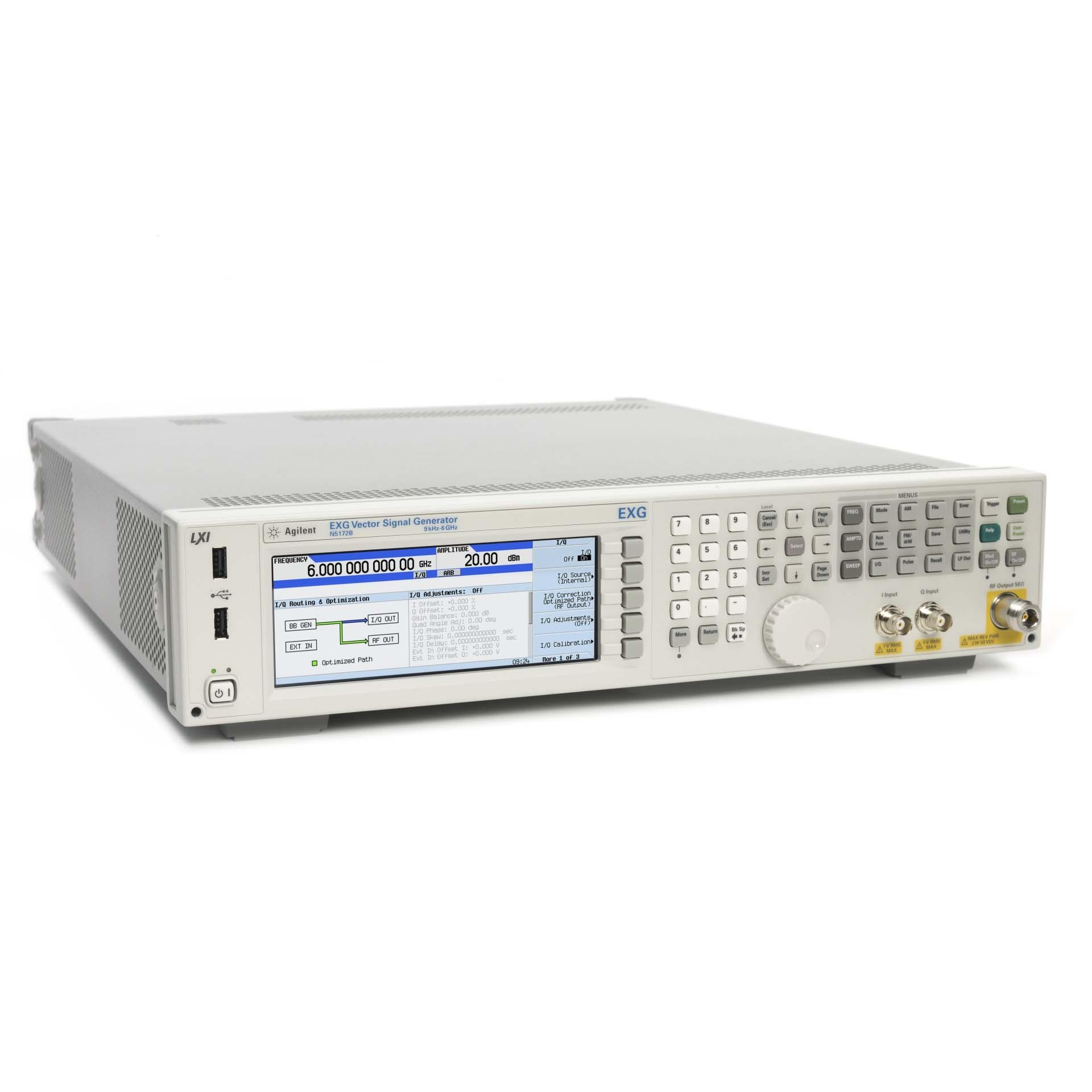 N5172B/012,099,506,653,660,UNV,N7624B-3FP・HFP・SFP RFベクトル信号発生器