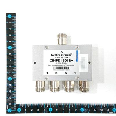 ZB4PD1-500-N+ パワー・スプリッタ