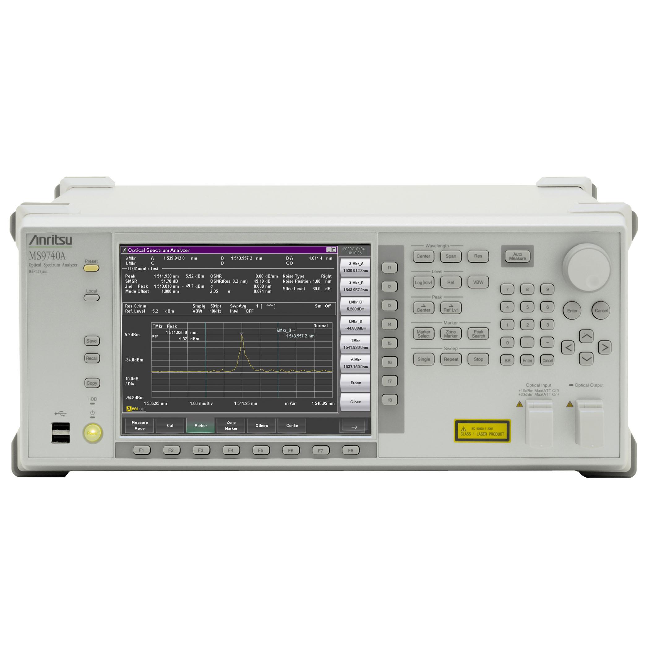 MS9740A/001,002,037,J0619B 光スペクトラムアナライザ