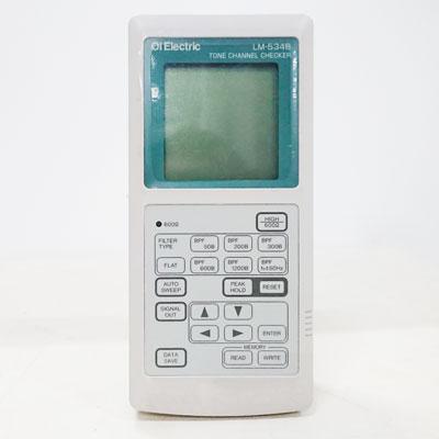 LM-534B トーンチャネル選択レベル計