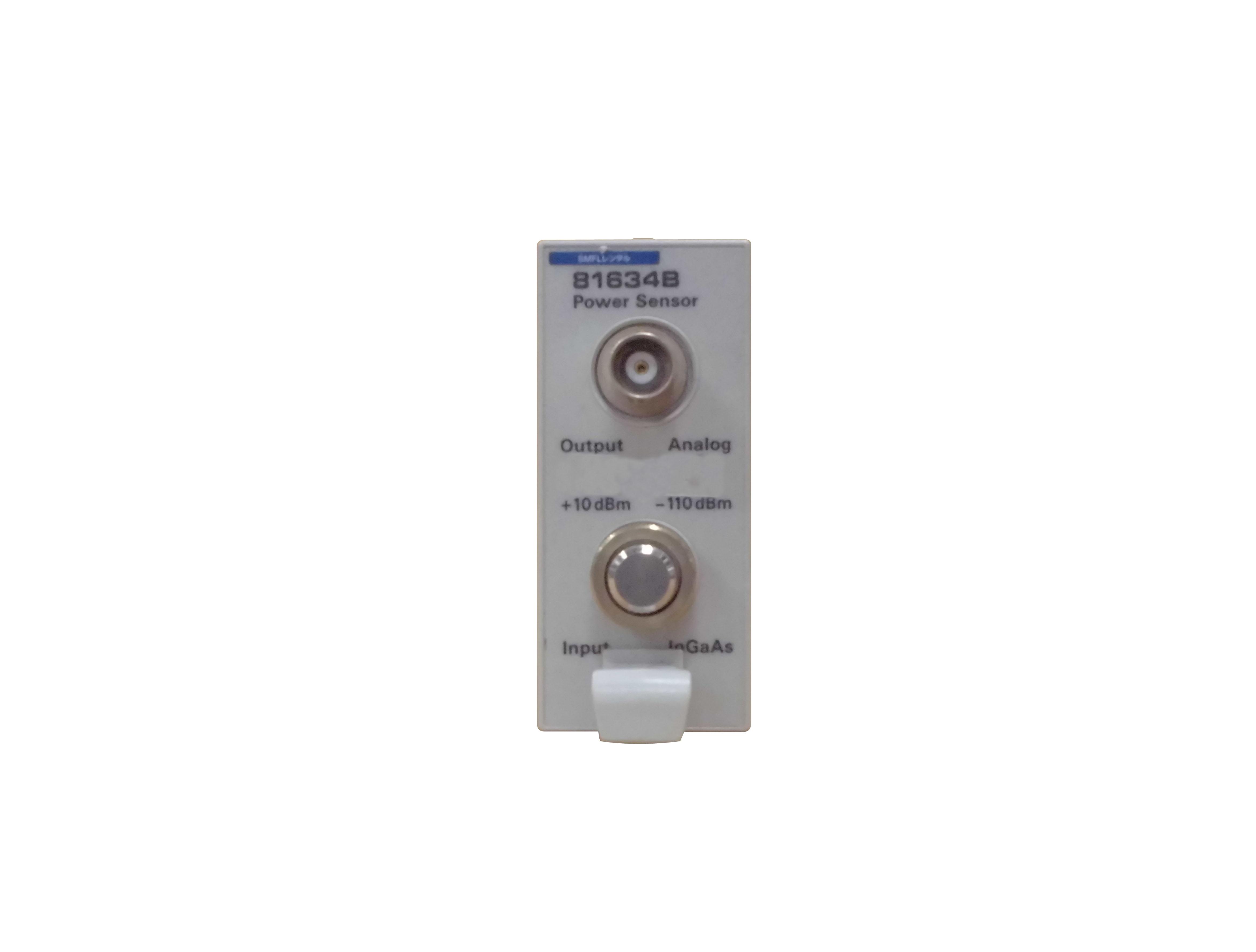 81634B/81000FI 低偏波依存性光パワー・センサ