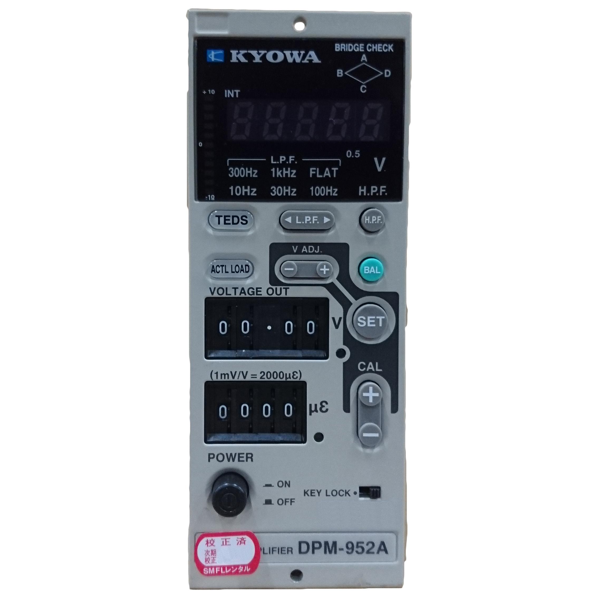 DPM-952A 動ひずみ測定器