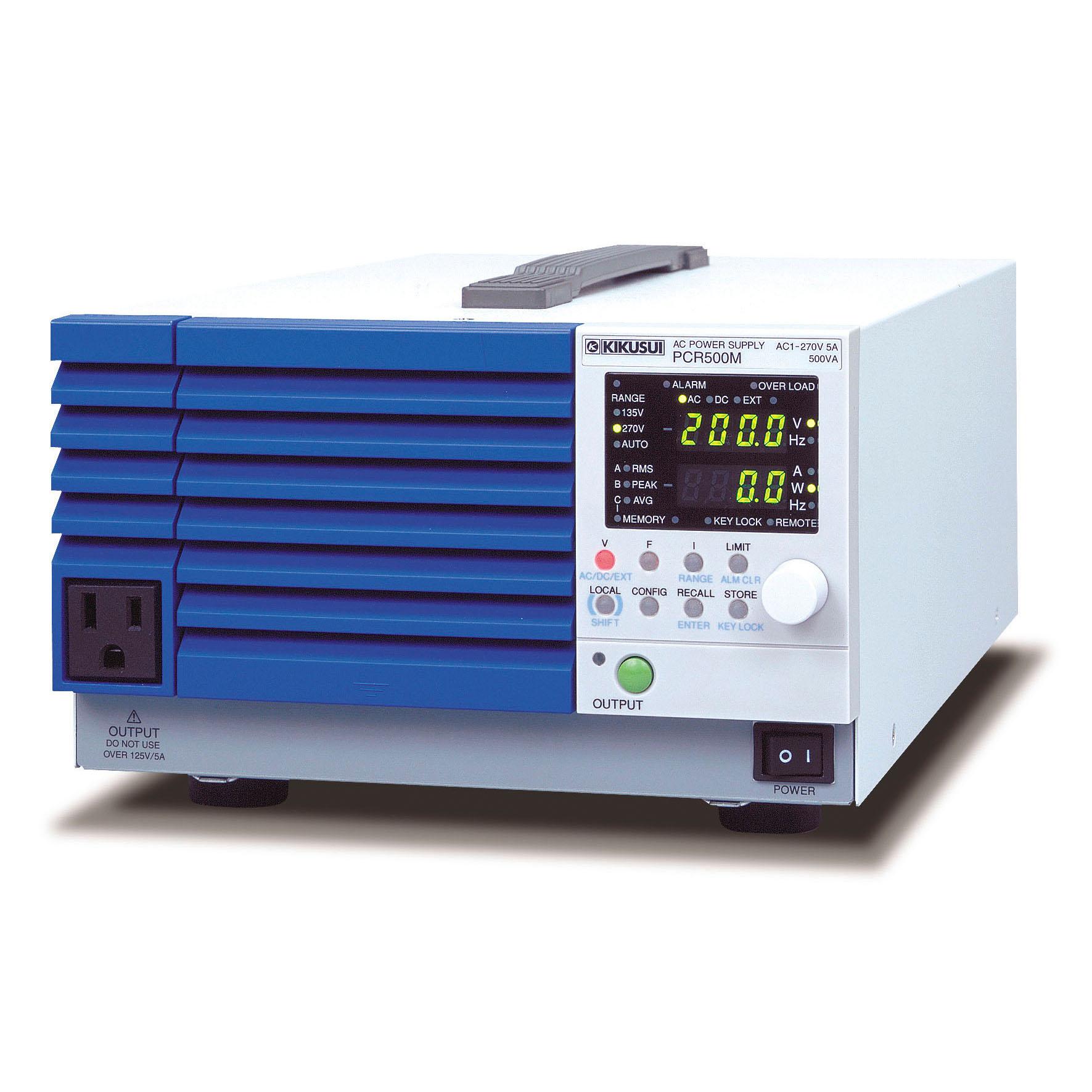 PCR500M コンパクト交流電源