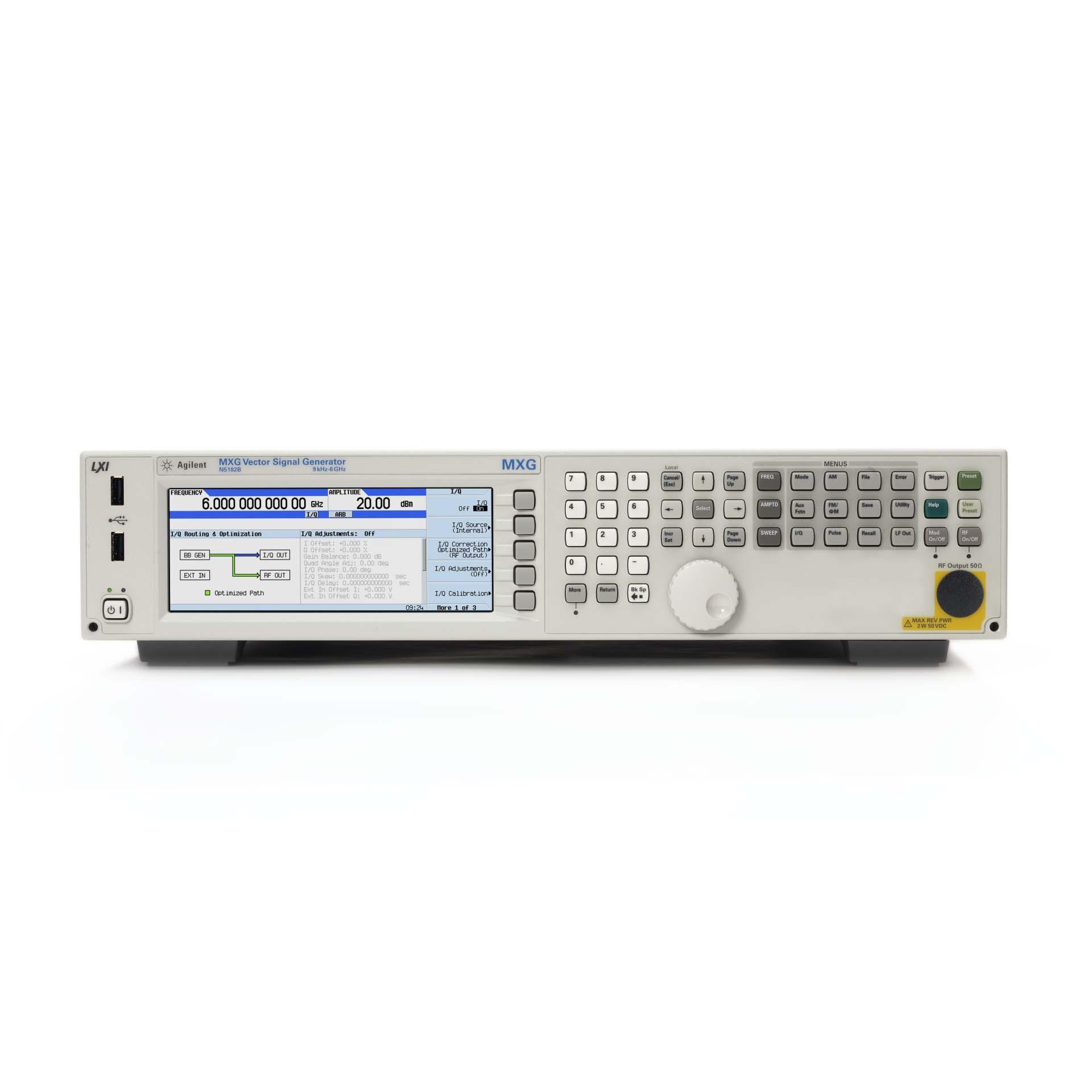 N5182B/022,1EA,1ER,403,506,656,UNV,N7601B-3FP・EFP・FFP・QFP・RFP,N7624B-3FP・HFP・JFP・SFP・TFP,N7625B-3FP・EFP・JFP・QFP・TFP RFベクトル信号発生器