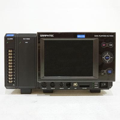 GL7000/GL7-DISP,GL7-SSD(128GB) 計測ユニット拡張型データアクイジョン