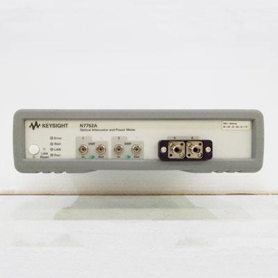 N7752A/022 2ch可変光アッテネータ/パワーメータ