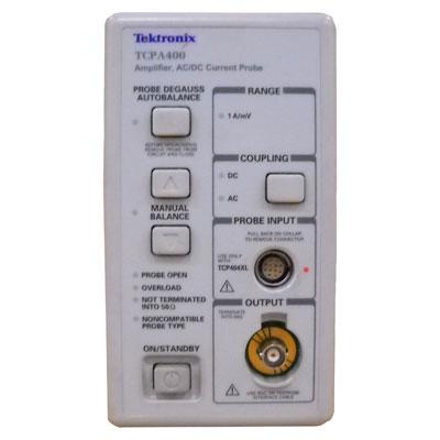 TCPA400/TCP404XL 電流プローブ増幅器・AC/DC電流プローブ
