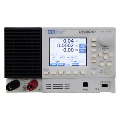 LN-300C-G7/LX-OP01,RC-02A 電子負荷装置