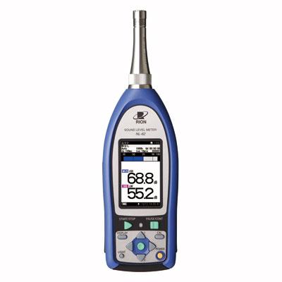 NL-62/NX-42FT,NX-42WR,NX-62RT(第TF164号) 精密騒音計(検定済証付き)